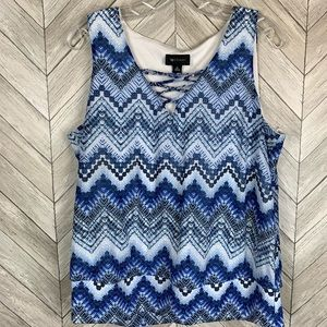 AB studio tank top blouse